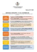 Nuovo DPCM - chiarimenti